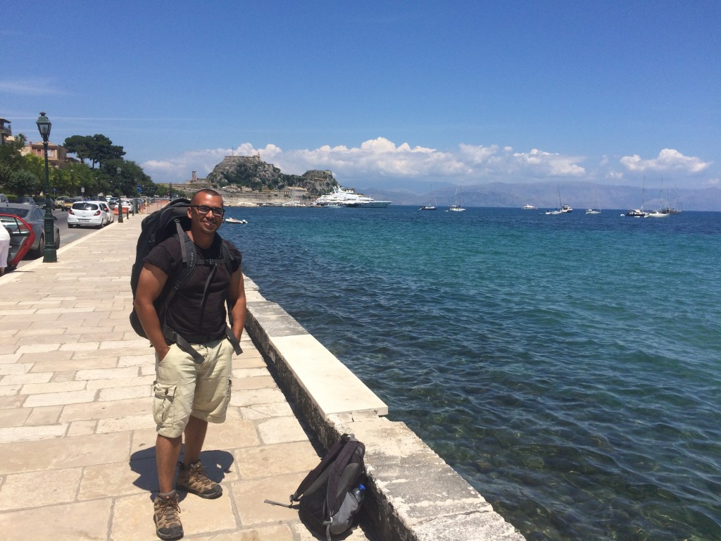 Backpacking in Greece Corfu Island