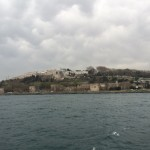 Topkapi Palace in the distance