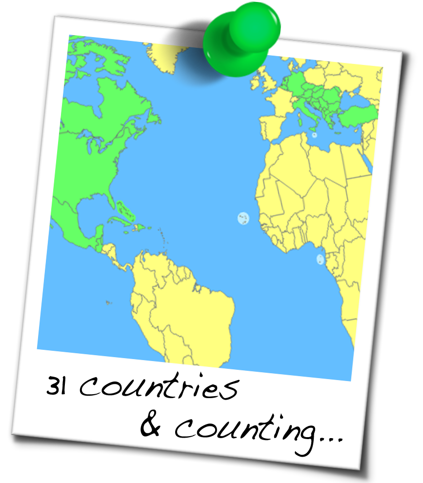 Where Ive Beenso far – Where I Ve Been Travel Map