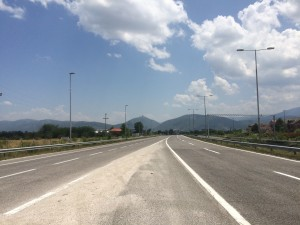 Hitchhiking Macedonia