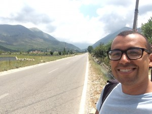 Hitchhiking Albania