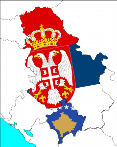 Serbia and Kosovo as two nations