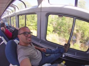 GoPro Amtrak Sunset Limited