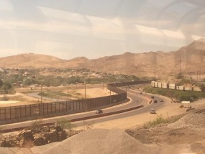 US Mexico Border El Paso Amtrak