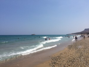Beach near Irakleio