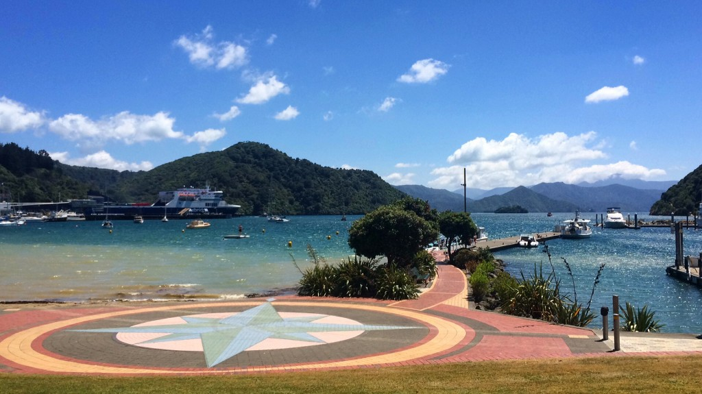 Picton Harbor in the Marlborough Sounds