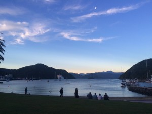 Sunset over Picton